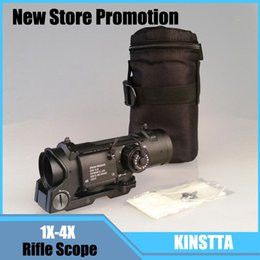 Wholesale Hot Sale Tactical Rifle Scope Quick Detachable X X Adjustable Dual Role Sight For Hunting