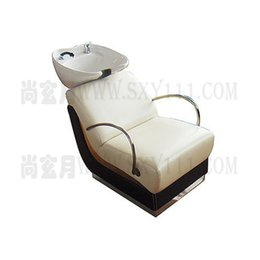 Wholesale shampoo bed salon furniture comfortable salon hairwashing bed white leather pretty bed
