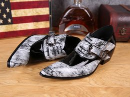 Fashion men's snake leather shoes Italy shoes men high quality leather men's shoe business Oxford Sapatos Masculino wedding party shoes