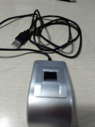 Wholesale UF100 USB Biometric Fingerprint Scanner Fingerprint Reader USB port English software SDK