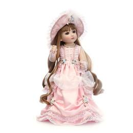 Muñecas bjd en Línea-2016 Nueva Design18 '' completa de silicona Vinilo Renacido SD / BJD con la moda para bebés ropa de la muñeca 18inch el mejor juguete de la muñeca Colección