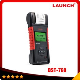 Wholesale 100 Original Launch BST Battery Systerm Tester tool support Asia Pacific Europe and America BST760 Multi language In stock