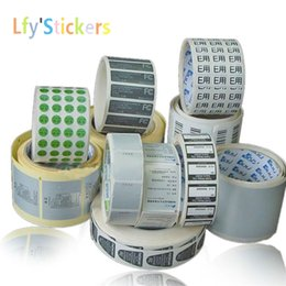 Wholesale 2016 Custom Self Adhesive Stickers Label Printing Customized Adhesive Label Sticker Printed Roll Packing