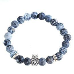 Hot Sale 8mm Natural Stone Bracelet, Stone Beads Mix Style Choose Elastic Rope Bracelet