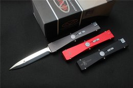 Free shipping High quality Microtech Nemesis Auto Knife Blade:8Cr13Mov(Satin) Handle:Aluminum(CNC finish)Outdoor tools,wholesale,gift
