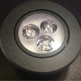 Wholesale Black Body V V Dimmable W Led Downlight Round Ceiling Recessed Spot led Light lamp IP40 Indoor Lighting