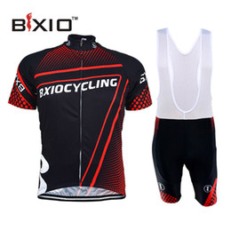 Wholesale BXIO Cycling Clothes China Promotion Iteam Short Sleeve Summer Zipper Sport Jerseys OR BEA Cycling Clothing BX DR087