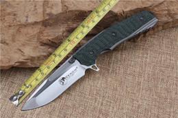 Descuento bolas de rodamiento Bola plegable 2015 de alta calidad que lleven la aleta cuchillo S35VN G10 hoja de caza de la supervivencia al aire libre campo de la manija cuchillos de herramientas EDC