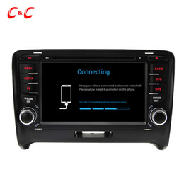 Wholesale Quad Core HD Android Car DVD Play for Audi TT with GPS Navigation Radio Wifi Mirror link DVR