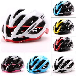 Wholesale Lightweight Mtb Bikes - Kask Protone Paul Smith 2016 Hot Sale Cycling Helmet Sky Pro MTB Road Bicycle Helmet Size L 54-61cm Super Lightweight Bike Helmets