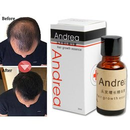 Wholesale Andrea Hair Growth Essence Hair Loss Liquid ml Dense Hair Fast Sunburst Hair Growth Grow Restoration Pilatory DHL