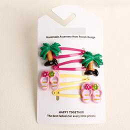 Crème glacée animale en Ligne-nouveau design créatif de haute qualité clips filles cheveux accessoires enfants de crème glacée de l'arbre de cheveux animal mignon