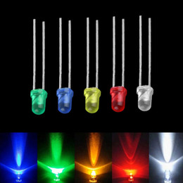 100pcs 3mm White Green Red Blue Yellow LED Light Bulb Emitting Diode Lamps Brand new <US$10 no tracking