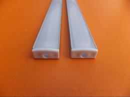 Wholesale 15M Floor profile LED Aluminium Extrusion for Floor m LED Strip Aluminum Floor Profile