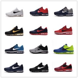 Wholesale 2016 Hot Sale Maxes II KPU and Mens Running Shoes Airs Cushion Outdoor Best Top quality Sports Sneakers Size Drop Shipping