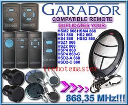 Wholesale NEW products GARADOR automatic gate remote control GARADOR garage door opener GARADOR Garage door remote