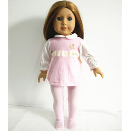 Wholesale Clothes for inch American Girl Doll Pink Color Cute Doll Clothing quot Doll Accessories