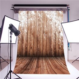 Wholesale 5x7FT Wood Wall Vinyl Photography Backdrop Photo Background Studio Props