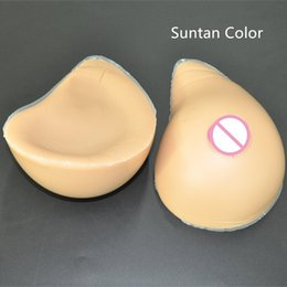 Wholesale Gift Perfect Spiral Shape Artificial Silicone Breast Prosthesis Fake Flase Boobs Forms Crossdresser Tits Crossdresser Shemale User