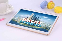 Wholesale Cheapest Android 4g - Cheap Android Tablet 3G Phone Call 10.6 Inch Dual Camera Tablets Octa Core IPS 4G 64GB MTK8382