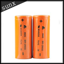 MNKE 26650 Battery IMR MH46698 26650 LIMN Rechargeable Battery 3500mah High Drain Battery For Mechanical Hades Mod & 26650 Mod