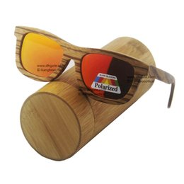 Wholesale New TOP wood sunglasses men bamboo women sunglasses with Revo lens CE UV400 kangbo