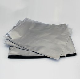 Wholesale Anti Static Shielding Bags x80MM ESD shielding bag Open Top Waterproof Bag