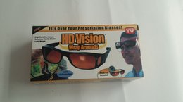 Wholesale HD Vision Wrap Arounds Fits Over Your Prescription Glasses UV protection Glasses High Definition Lenses enhances clarity light weight