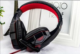 Gaming Headphone with LED Light Over-ear Headset Professional Gaming Headset with Mic Stereo Bass with Retail Box