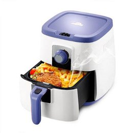 Wholesale XIANGJUN consumer and commercial air fryer oil free high capacity intelligent fryer fries machine multifunction purple