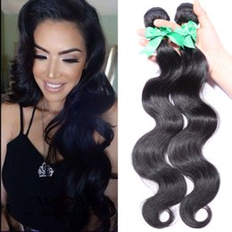 Malaysian Body Wave Hair Extension 6A 100% Unprocessed Natural Color Malaysian Human Hair Weave Bundles Malaysian Body Wave 2pcs lot