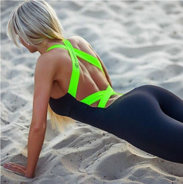 Wholesale Europe Burst Models Ladie Fitness Yoga Clothes Exercise Gym Suit Was Thin Halter Yoga Strap Jogging Trousers Leggings Fitness Sportswear