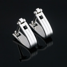 Luxury Mens Cufflinks Cuff Links For Wedding Silver Men's Shirt Cufflinks Fashion Popular Men's Suit Brand Cufflinks For Mens X-523