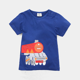 Jumping Beans Children T-Shirts Boys Girls Clothes Summer 2016 New Arrival Train Kids Tee Shirts Outfits 100% Cotton