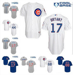 Wholesale 2015 New Chicago Cubs Kris Bryant Anthony Rizzo Ernie Banks Jorge Soler Jersey Baseball Jersey Mix Order