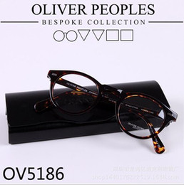 Wholesale Brand glasses Vintage optical glasses frame oliver peoples ov5186 eyeglasses Gregory peck ov eyeglasses for women and men eyewear frame