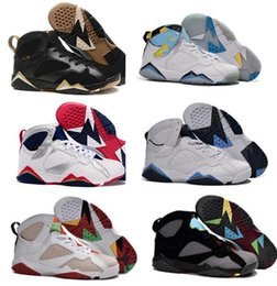 Wholesale Retro VII Shoes Sports Basketball Shoes Cheap Athletics Marvin The Martian Basketball Shoes Cheap Barcelona Nights Sports Shoes