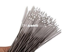 Wholesale Fashion Hot Straws cleaning brush Baby feeding bottles cleaning brush cm Stainless steel wire