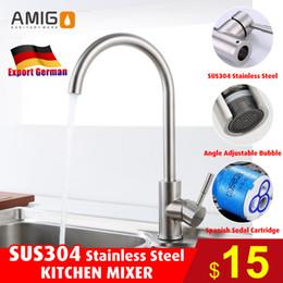 Brand new kitchen mixer SUS304 stainless steel sink tap, inport German kitchen faucet