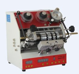 Wholesale ZY RM6 Electric Dialling code printer shoe carton code printer Dial coding machine leather LOGO Creasing machine