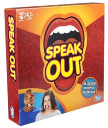 Wholesale Hotting Brand New Speak Out Mouth Board Party Game with FDA CE certificate best gift for Halloween Christmas