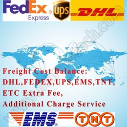 Wholesale Freight Cost Balance by EMS DHL FedEx UPS Shipment Servece Extra Fee Addictional Charge Link Shipping Charge by Express for Order