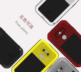 Wholesale New Powerful Original Love Mei Metal Aluminum Dirt Weahter Shock Proof Case For LG G5 IPX6 Waterproof