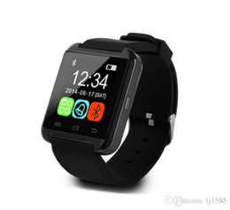 Wholesale 2016 U8 Smart Bluetooth Smart watches with Altimeter WristWatch Watch for iPhone Samsung HTC Android Phone Smartphones
