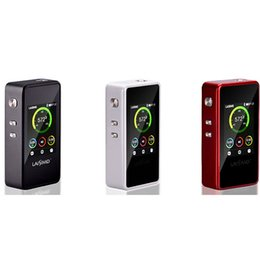 Wholesale Retailer price L1 W Authentic Laisimo Inches Big Screen Bluetooth Function Box Mod Electronic Cigarette Upgrade Snowwolf W