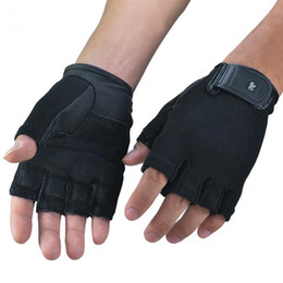 Wholesale-Gym Body Building Unisex Training Fitness Gloves Sports Equipment Weight lifting Workout Exercise Breathable Wrist Wrap