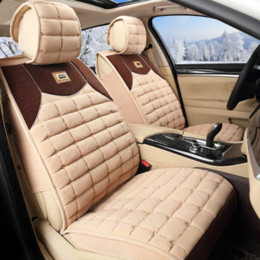 Wholesale Luxury Seat Covers For Cars - Universal car seat cover luxury cotton full surround car seat cover with pillow and headrest for BMW AUDI HONDA NISSAN TOYOTA