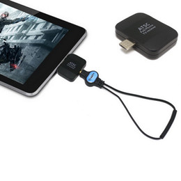 Wholesale 2016 NEW Digital ATSC TV Receiver Watch ATSC live TV on Android Phone Pad USB TV tuner pad TV stick for USA Korea Mexico Canada