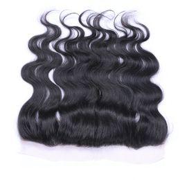 13x4 Lace Frontal Closures and Brazilian Peruvian Indian Malaysian Hair Bundles Top Lace Frontal Closures Human Hair