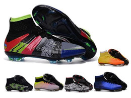 Wholesale Best Superfly FG CR7 Soccer shoes outdoor football Shoes magista obra ACC soccer cleats mens athletic shoes Size